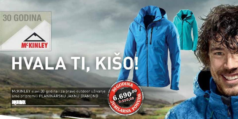 Planinarska jakna McKinley