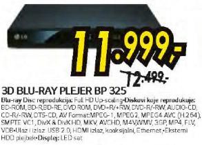 3D Blu-Ray Plejer Bp-325
