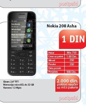 Mobilni telefon 208 Asha