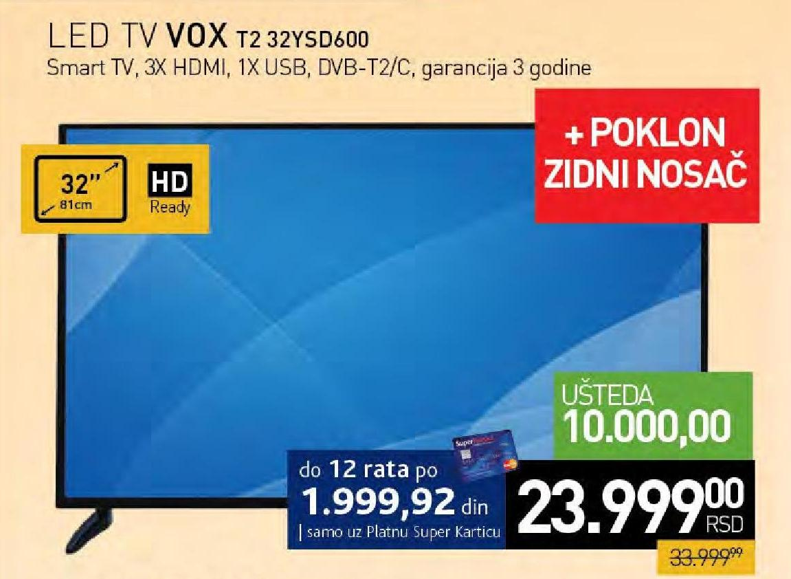 Televizor 32YSD600