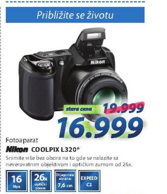 Digitalni Fotoaparat L320