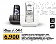 Bežični telefon Gigaset C610