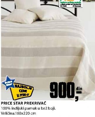 Prekrivač Price Star