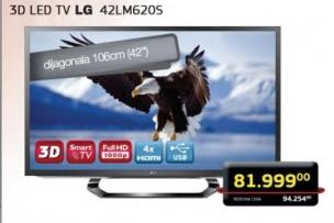 3D LED TV 42LM620S