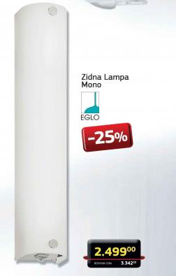 Zidna lampa Mono
