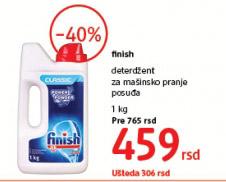 Deterdzent za mašinsko pranje sudova