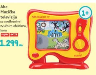 Igračka muzička televizija