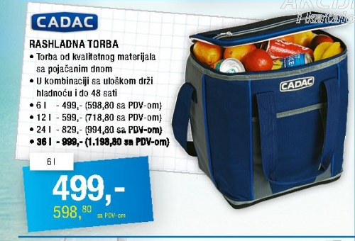 Rashladna torba 36l