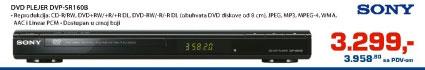 DVD plejer DVP-SR160B