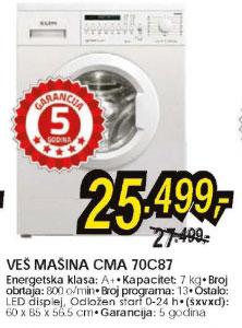 Veš mašina CMA 70C87
