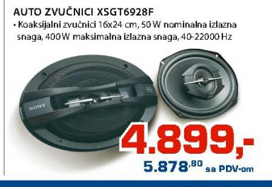 Auto zvučnici XS-GT6928F