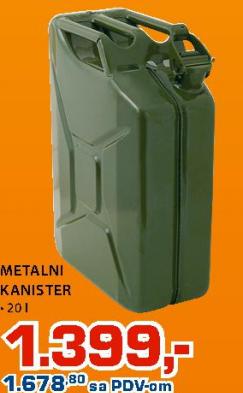 Metalni kanister