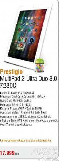 Tablet Multipad 2 Ultra Duo 7280C