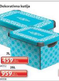 Dekorativna kutija 25L