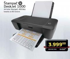 Štampač DeskJet 1000