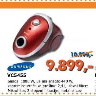 VC5455 usisivač
