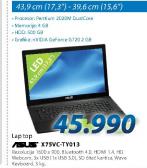 Laptop X75VC-TY013