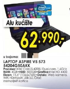 Laptop Aspire V5-573-54204G50akk