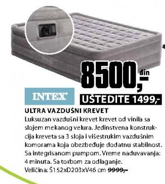 Vazdušni krevet ULTRA 152x203x46cm