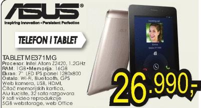 Tablet FonePad ME371MG
