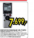 Diktafon digitalni VN-712PC i mikrofon ME-51S