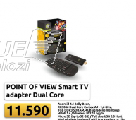 Point of view Smart TV Dual core 1,6GHz