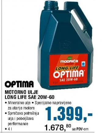 Motorno ulje Long Life