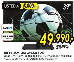 """Televizor LED 39"""" 39l2353dg"""