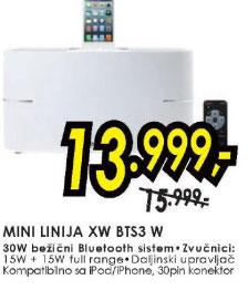 Mini linija XW-BTS3-W