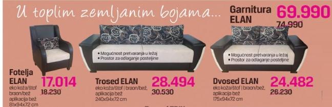 Garnitura ELAN