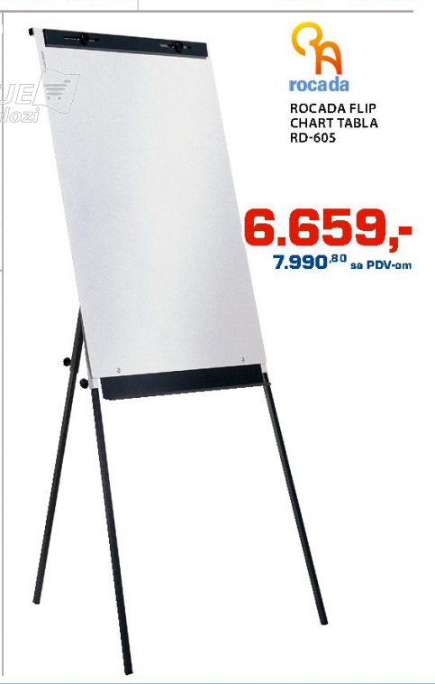 Tabla Rocada flip Chart  RD-605