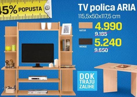 TV polica Aria