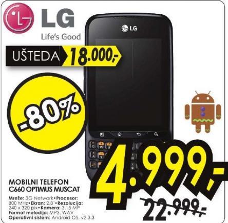 Mobilni Telefon C660