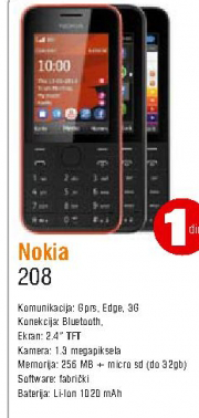 Telefon mobilni Asha 208