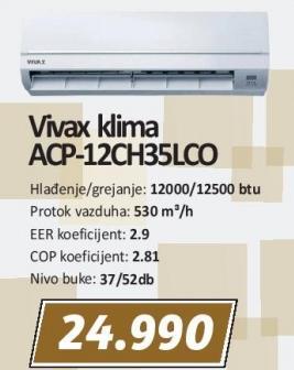 Klima uređaj Acp-12ch35lco