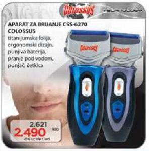 Električni aparat za brijanje Css-6270
