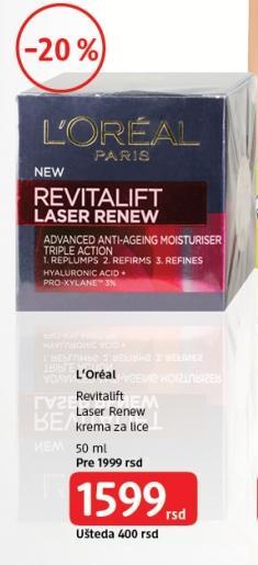 Krema za lice Revitalift