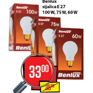 Sijalice Benlux E27