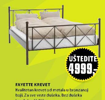 Krevet Fayette, 140x200cm
