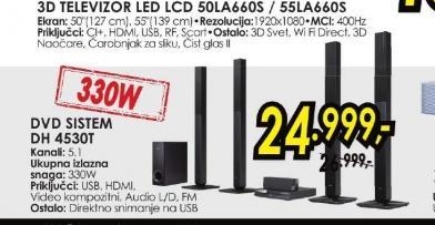 DVD sistem DH4530T