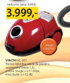 Usisivač VC-201 Vinchi