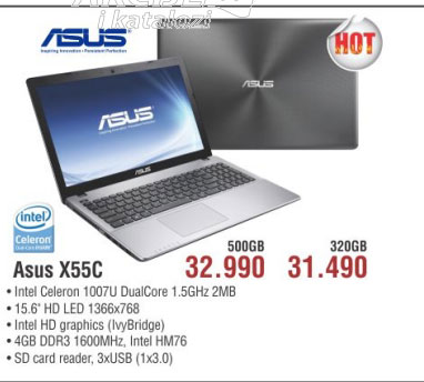 Laptop X55C