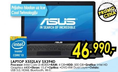 Laptop X552lav Sx394d