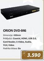 DVD plejer ORION 846