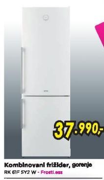 Samostalni kombinovani frižider RK61FSY2W