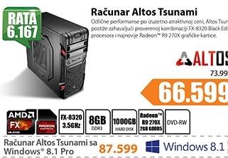 Desktop računar Altos Tsunami