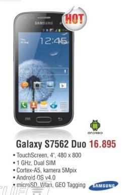 Mobilni Telefon  S7562 S Duo