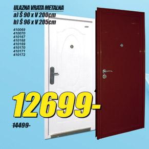 Ulazna metalna vrata