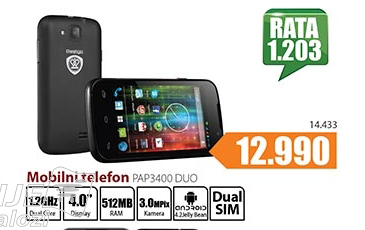 Telefon mobilni  PAP 3400 Duo