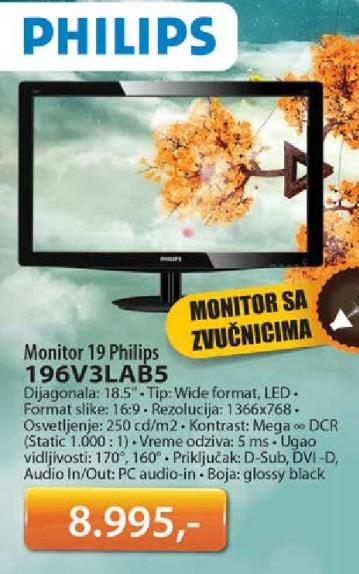 Monitor 196V3LAB5